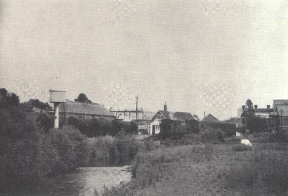 Panorama of Hemyock accross the River Culm