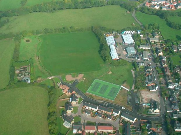 Aerial View of Longmead Field - Oct 05