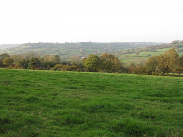 Combe Hill from Ridgewood