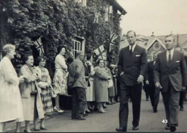 The Duke of Edinburgh in Uffculme