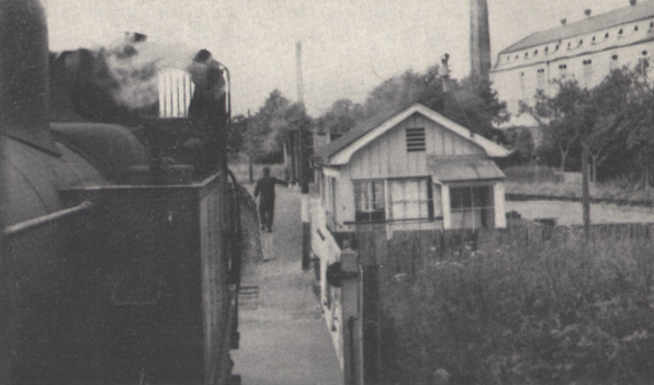 Coldharbour Halt from train, July 1962