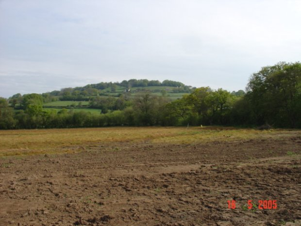 Before the football pitches were built - May 05