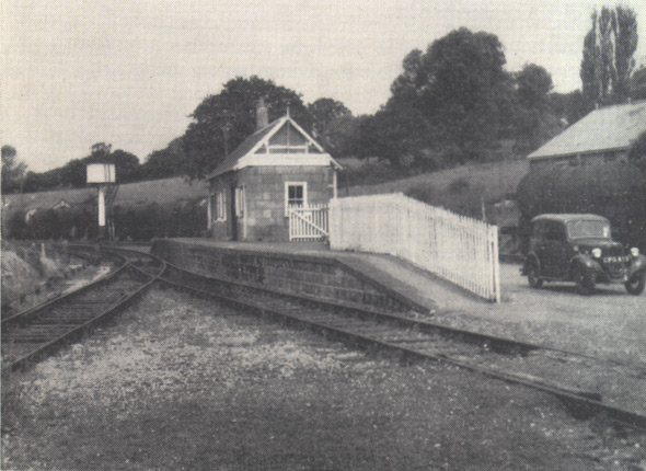 Hemyock station buildings