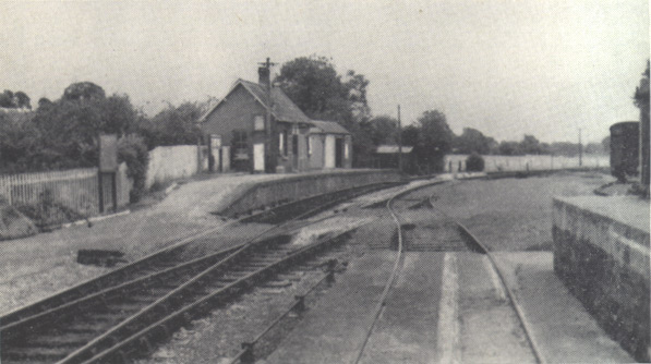 Culmstock looking east, July 1962