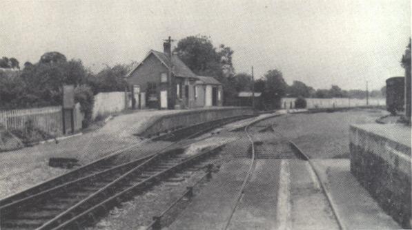 Culmstock looking east, July 1962