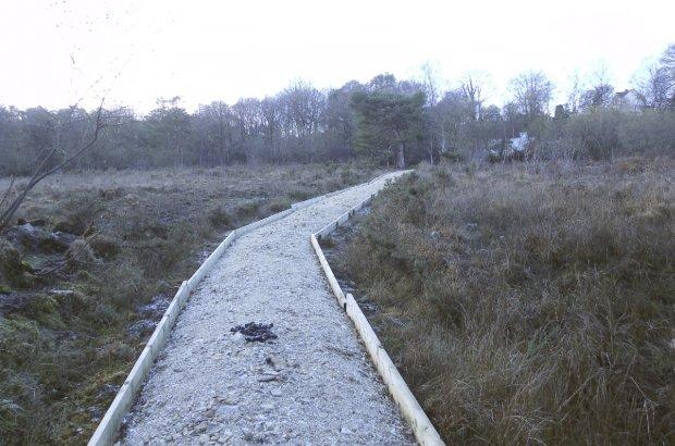 New Path for Ashculme Turbary