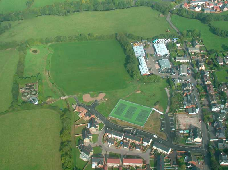 Aerial View of Longmead Field - Oct 05