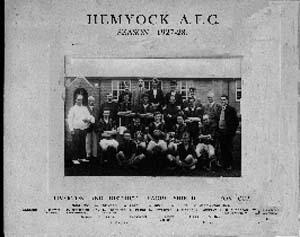 Hemyock Football Team 1927/28