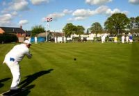 The bowling club in action
