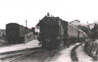 Mixed train at Hemyock station
