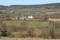 In the Culm valley. View north from the Culmstock – Hemyock road near Straight Ash Farm.  Image © Martin Bodman
