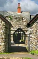 A gatehouse at the Castle