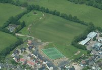 An aerial view, taken by Dave Steel