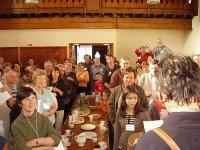 Twinning Visit May 2007 - Arrival & Reception at Hemyock Baptist Church