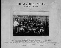 Hemyock Football Team 1927/28