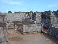 Pavilion under construction - June 07