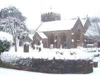 St Mary's in the snow Feb 09