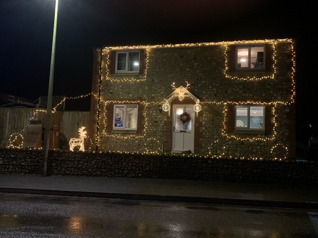 Christmas Lights 2020 - Joint First Prize Winner, 1 of 2