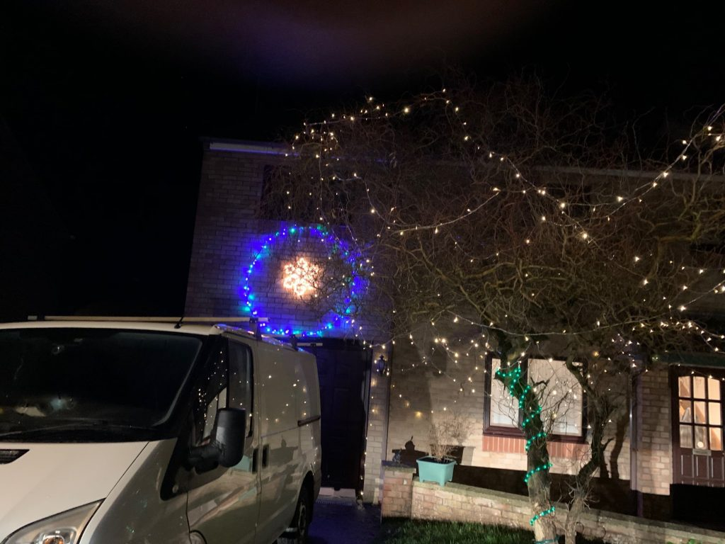 Christmas Lights 2020 - Joint Third Prize Winner, 1 of 2