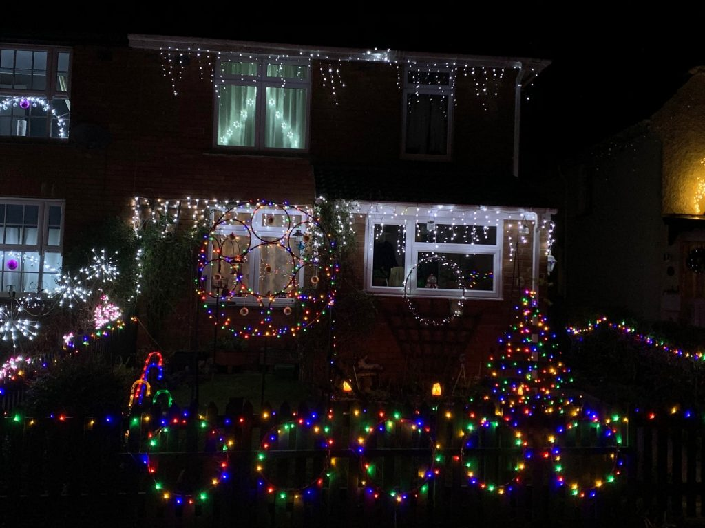 Christmas Lights 2020 - Joint Third Prize Winner, 2 of 2